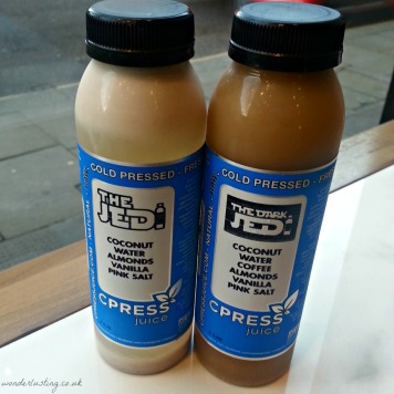 CPRESS coconut water and nut milk tonics