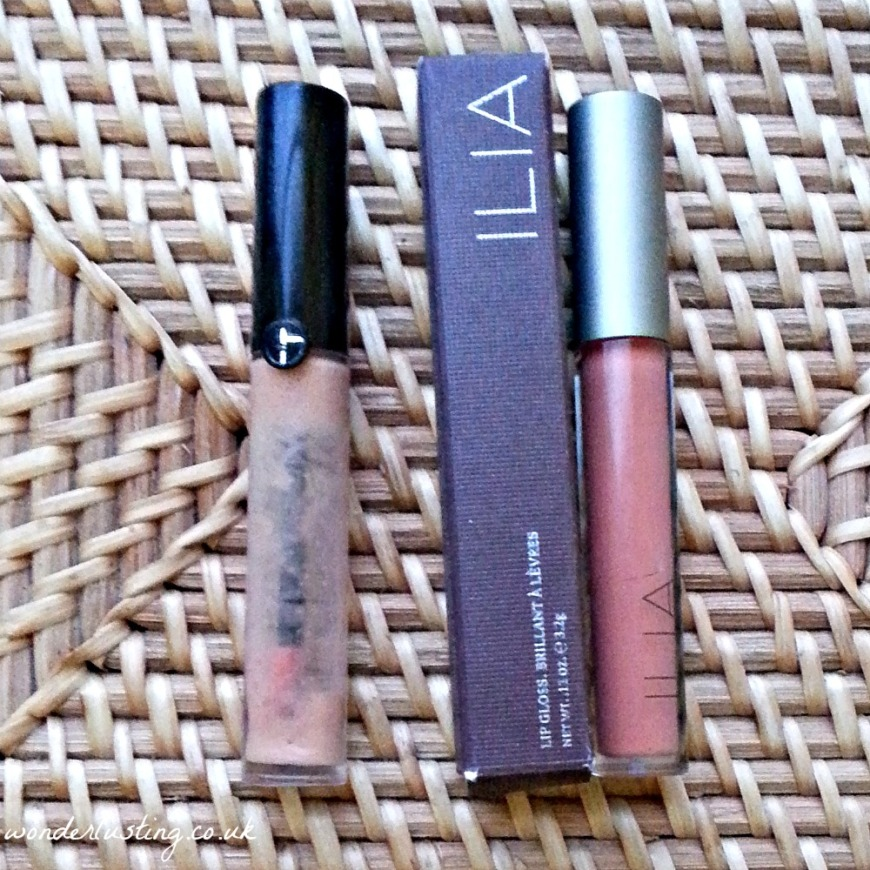 Gloss D'Armani Lipgloss in Beige 103 replaced with Ilia Lipgloss in The Butterfly and I