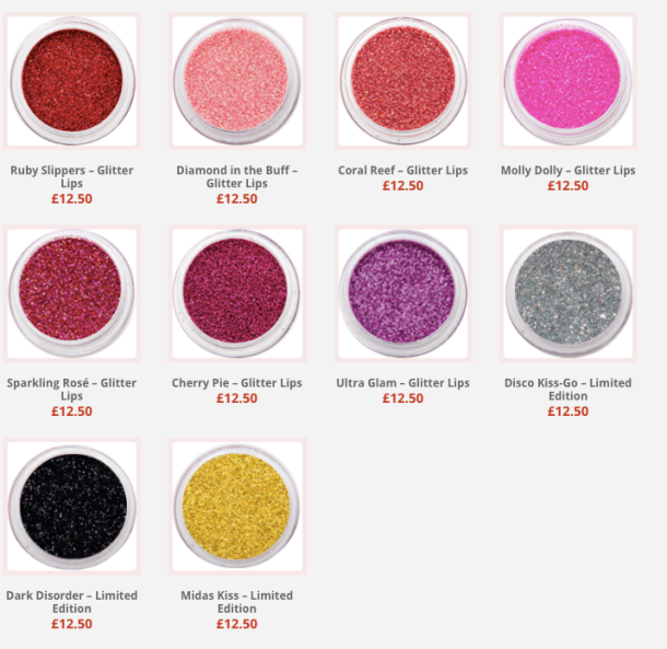 Glitter Lips collection