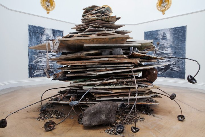 Anselm Kiefer, Ages of the World, 2014 Private collection Photo courtesy Royal Academy of Arts. Photography: Howard Sooley / © Anselm Kiefer.