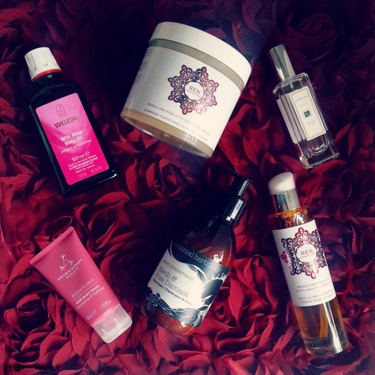 rose body products