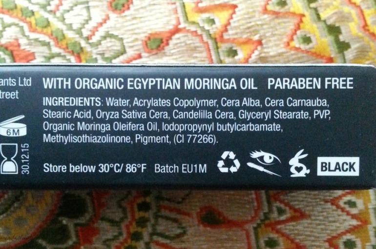 Eye of Horus goddess mascara ingredients