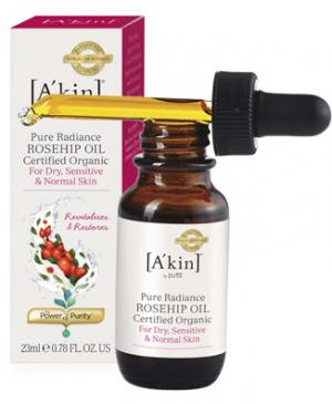 A'Kin rosehip oil and dropper