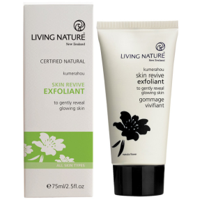 Natural Beauty: Living Nature Skin Revive Exfoliant Review