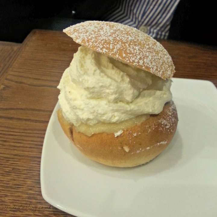 semla at Scandinavian Kitchen