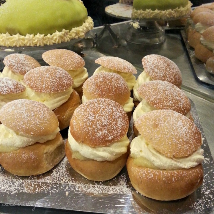 Semlor at Scandinavian Kitchen