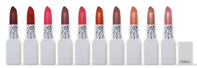 Nudus-lipsticks