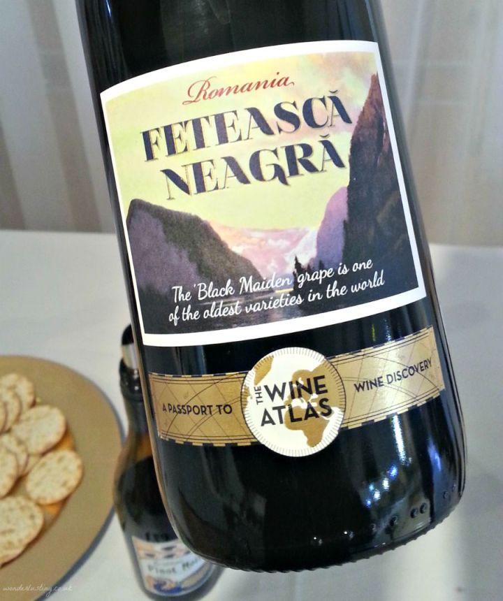 The Wine Atlas Feteasca Neagra from Romania