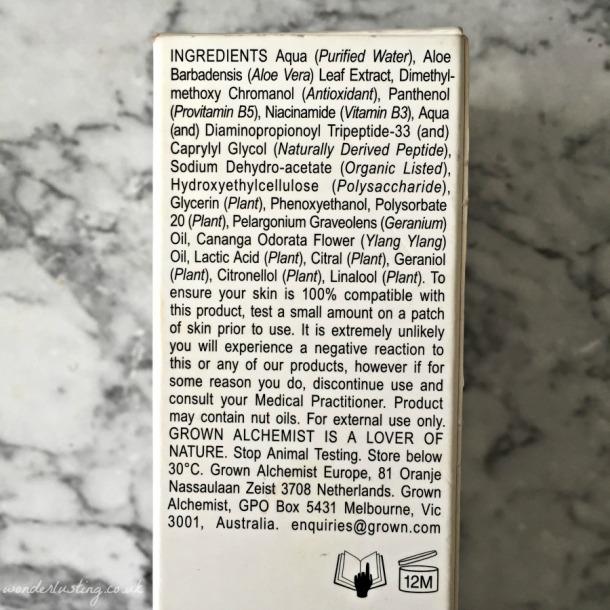 Grown Alchemist Detox Serum Antioxidant +3 ingredients