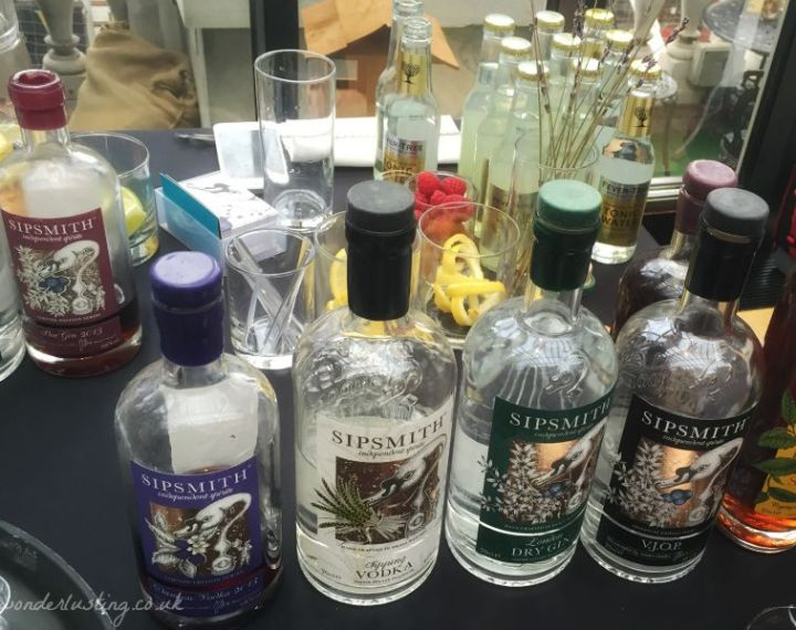 Sipsmith London Gin Tasting