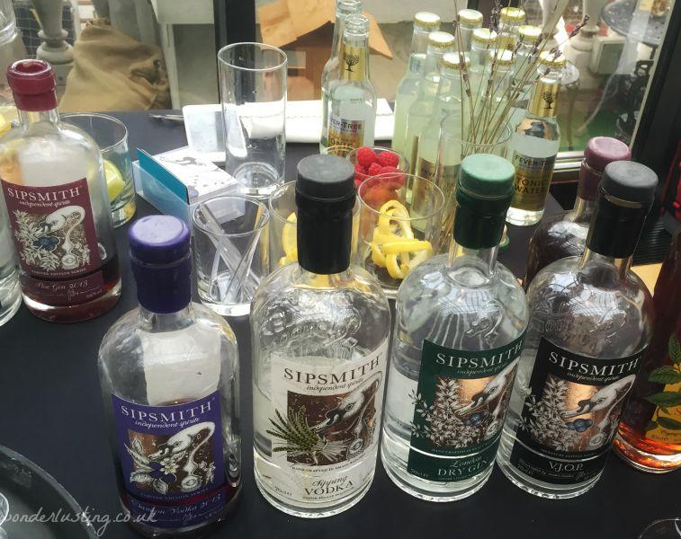 Sipsmith London Gin Tasting