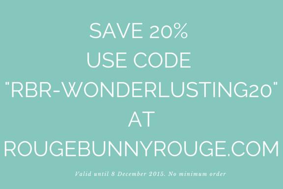 Rouge Bunny Rouge discount code