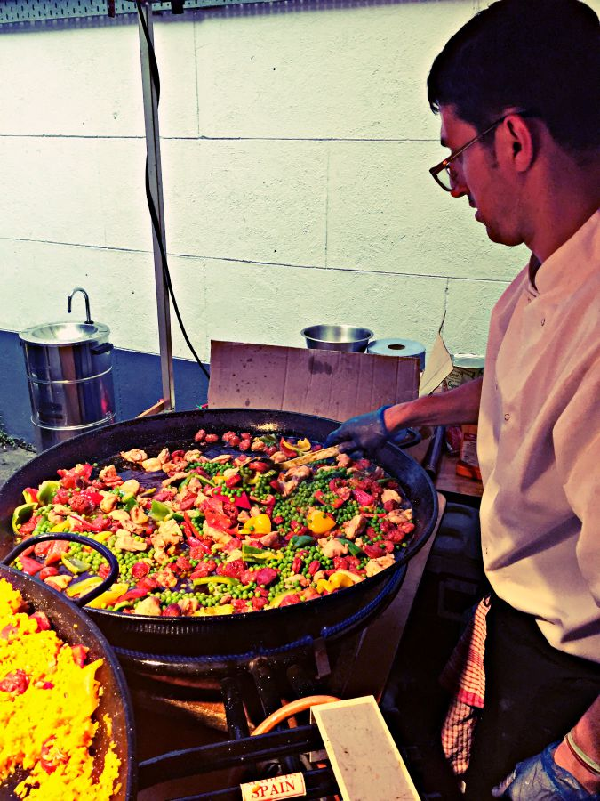 Spanish Lab paella