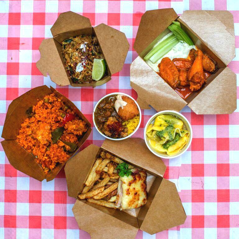Travelsupermarket International Street Food Challenge dishes
