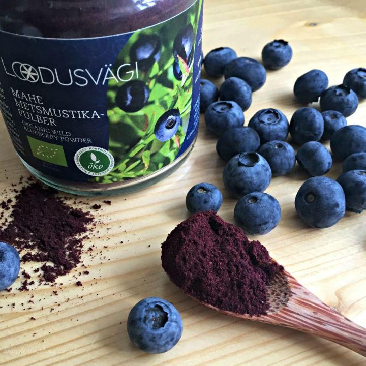 orgaic wild blueberry powder