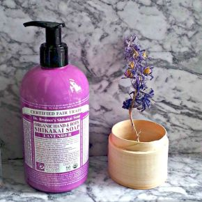 Natural Beauty: Dr Bronner's Organic Hand & Body Shikakai Soap