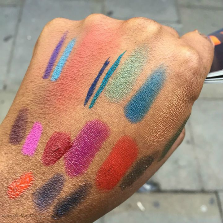 H&M Beauty swatches