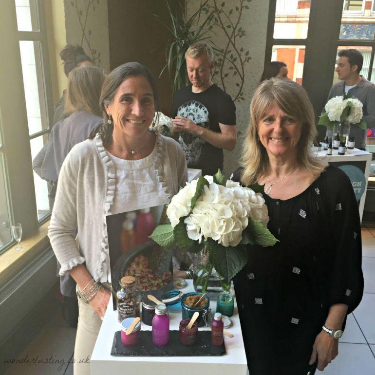 Lara Morgan & Amanda Barlow, managing director, founder, Spezia
