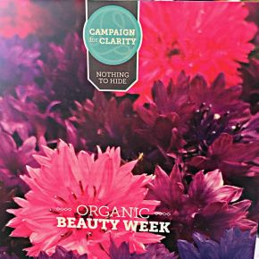 Soil Association Celebrates Organic Beauty Week, 14 – 21 September 2015 #Campaign4Clarity