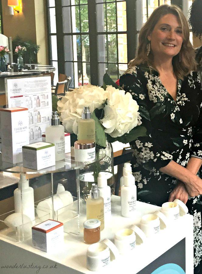 Tanya Hawkes, founder, Therapi Honey Skincare