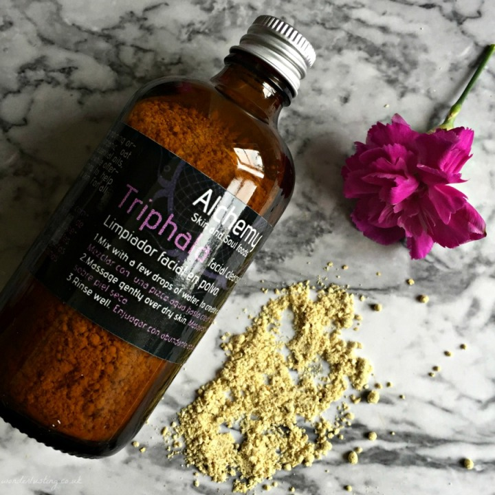 alchemy skin and soul triphala facial cleansing powder