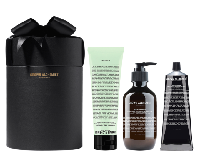 grown alchemist body treatment set