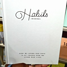 Kikki K habits journal