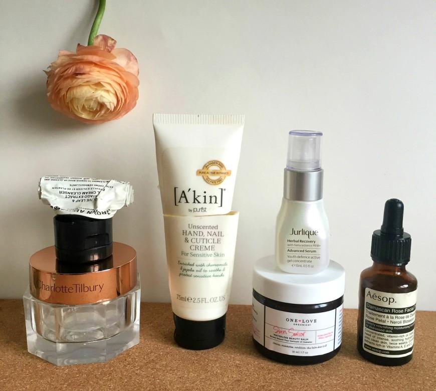 Skincare empties