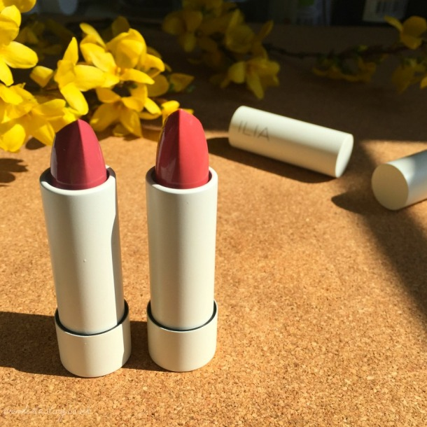 ILIA tinted lip conditioners spf15