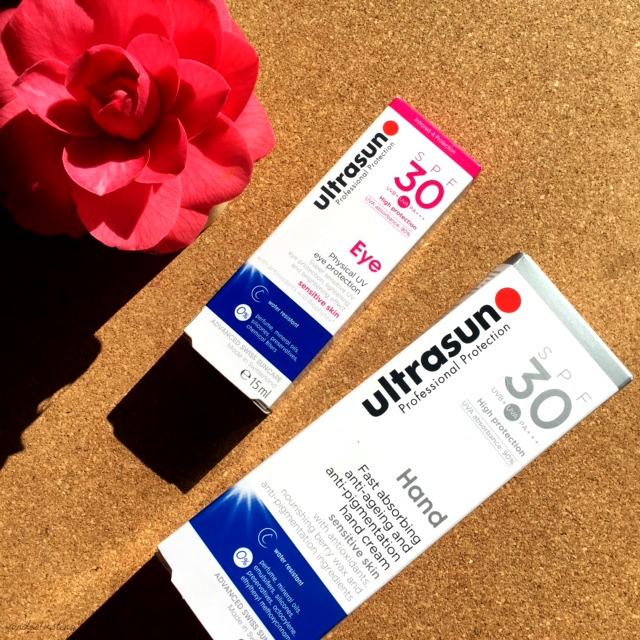 Ultrasun Eye SPF30 and Hand Cream SPF30