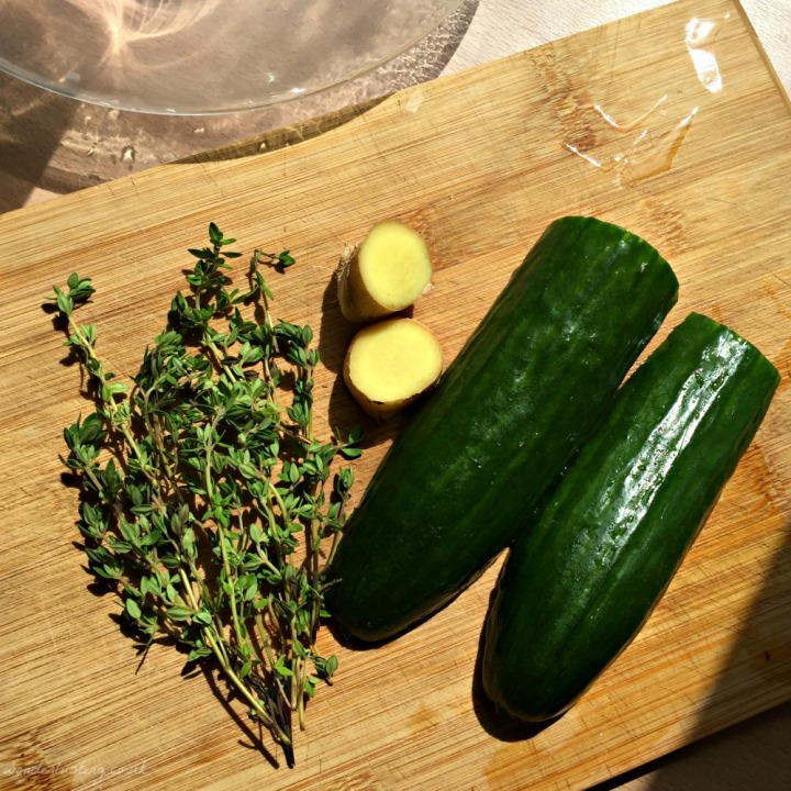 Cucumberade ingredients