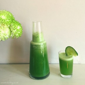 Wonderlusting Kitchen: Cool As Cucumberade