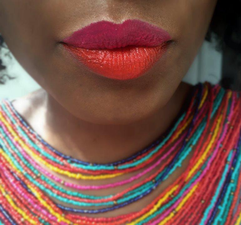 Glo&Ray La Amo Creamy Matte and Creamy Shimmer lipstick swatches