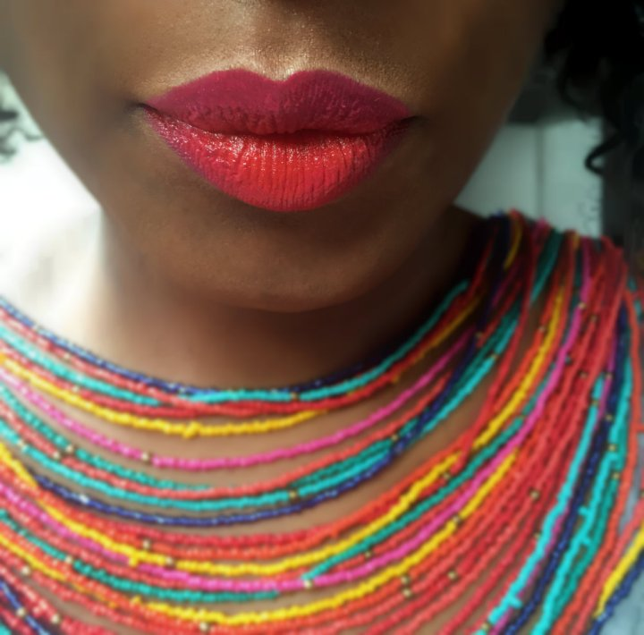 Glo & Ray Pink and Orange Ombre Lip