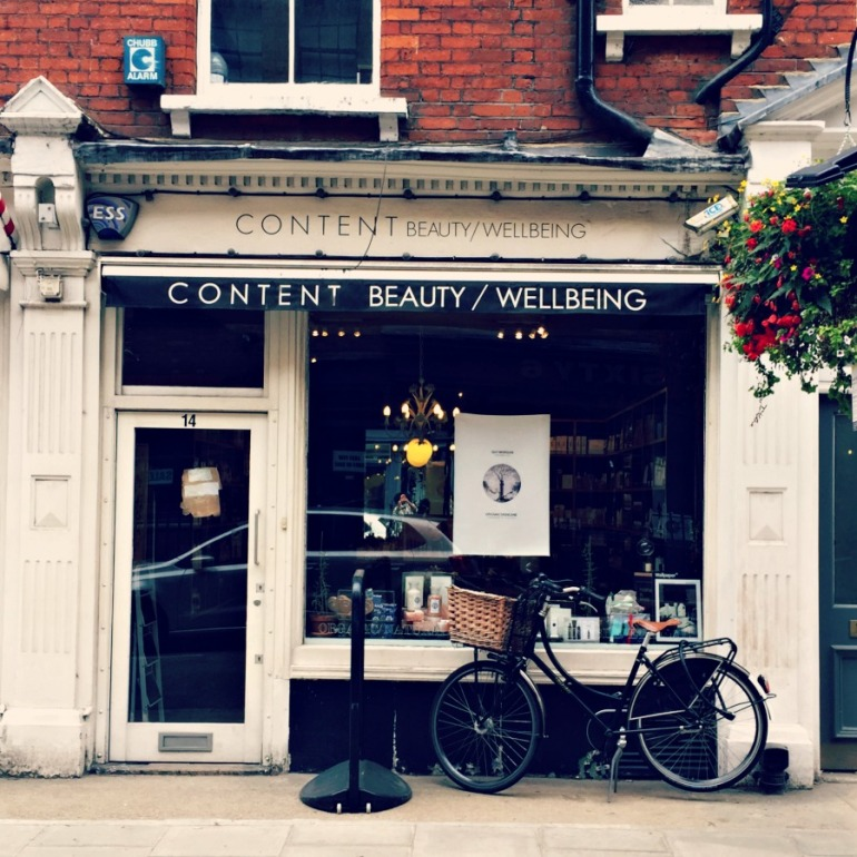 Content Beauty exterior