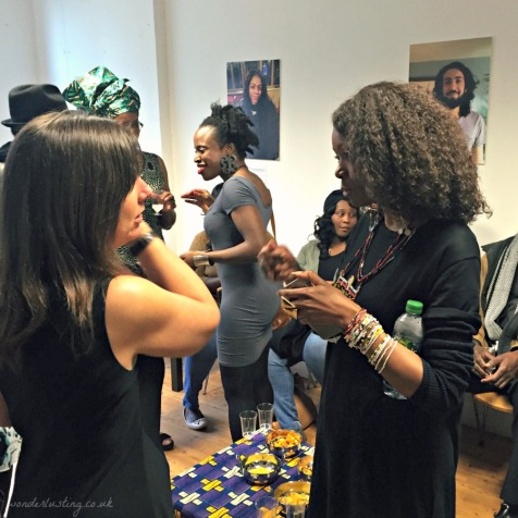 Fellow guests at Tokunbo's Kitchen Nigerian supperclub