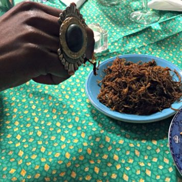 Dambu nama, dried meat floss traditonally eaten in Northern Nigeria, Tokunbo's Kitchen
