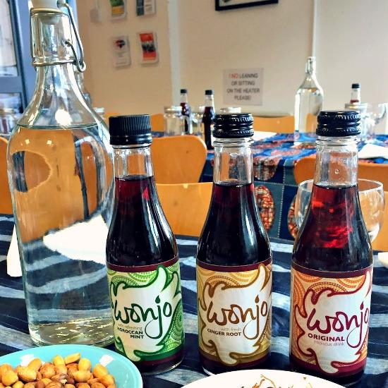 Chosan wonjo hibiscus drink
