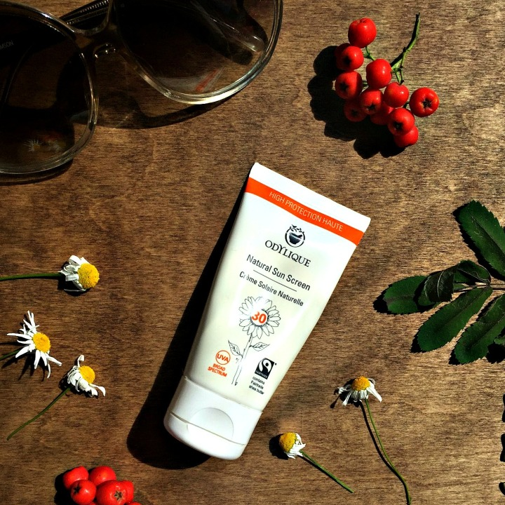 Odylique natural sun screen spf30
