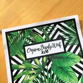 Organic Beauty Week 2016#LookForTheLogo