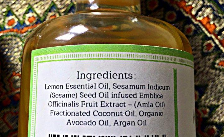 Amla Hair Oil Ingredients.