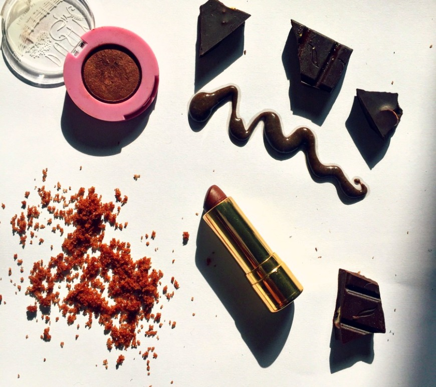 Beauty products sweet like chocolate