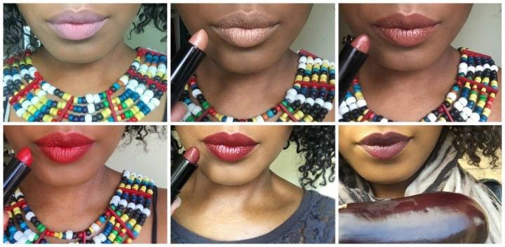 LuvLips lipstick swatches
