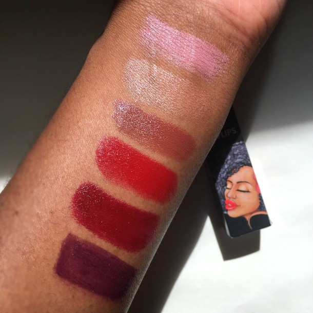 LuvLips swatches