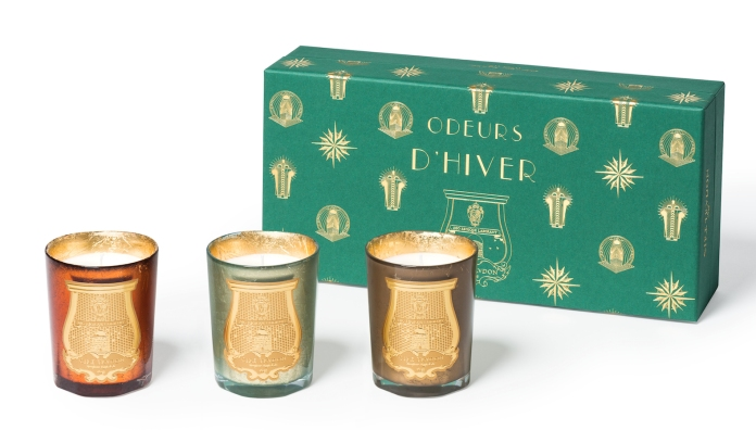 Cire Trudon Odeurs D'hiver Christmas 2016