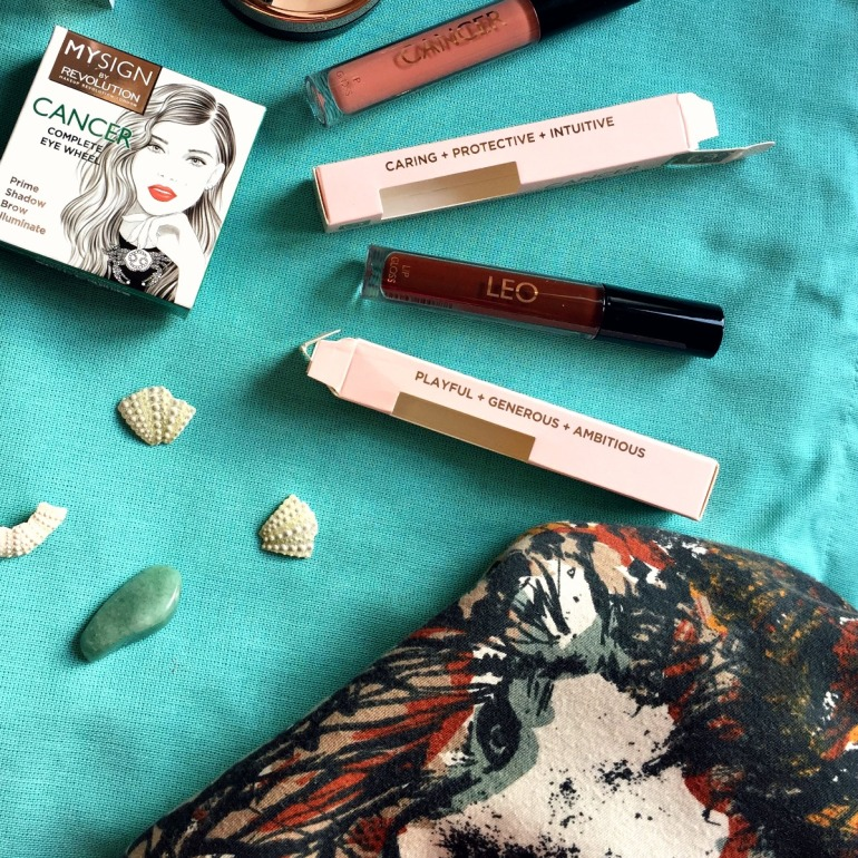MYSIGN by Makeup Revolution Cancer complete eye wheel and lipgloss collection