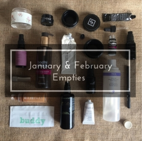 How Many Beauty Products Do You Use Up In A Year? Year of Green Beauty Empties