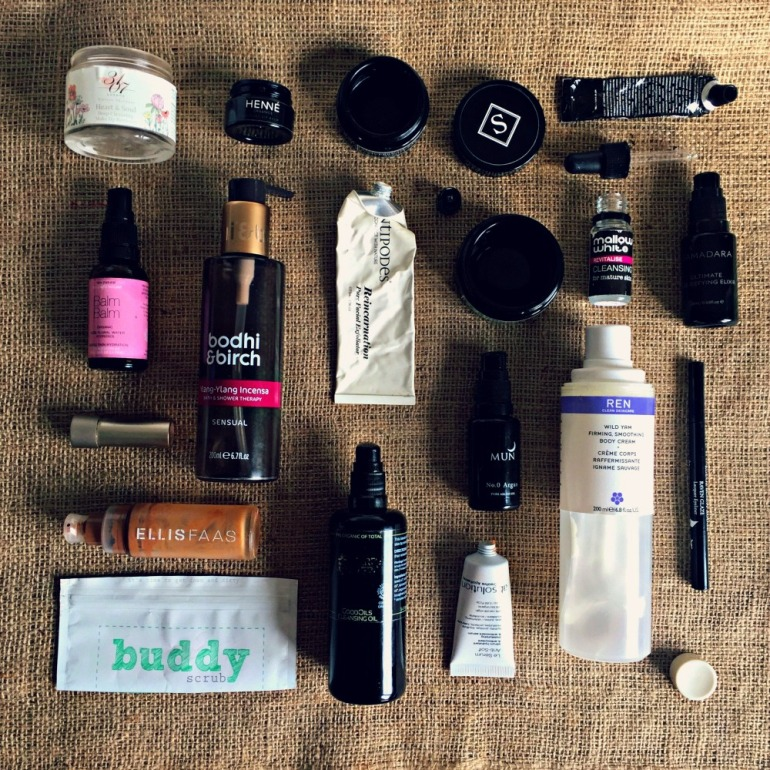 green beauty empties 2017