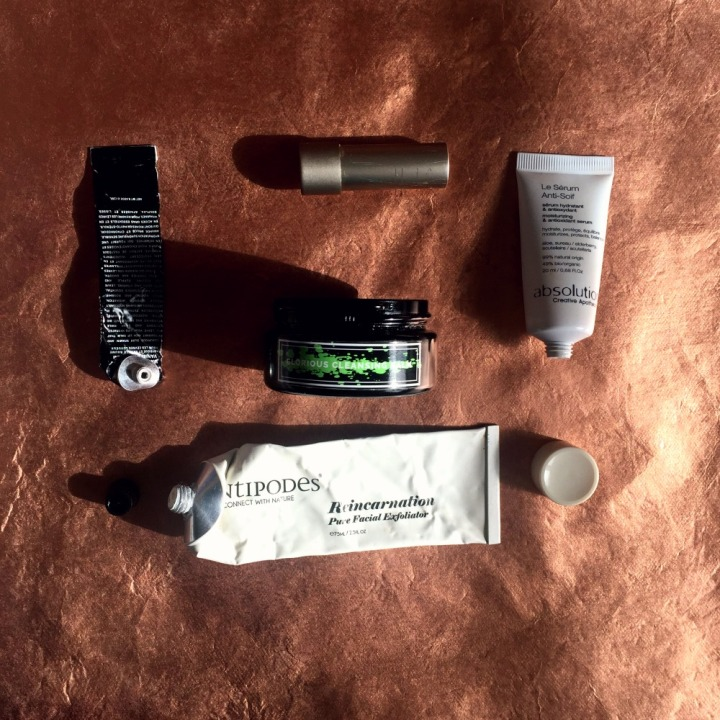 January-February 2017 green beauty empties