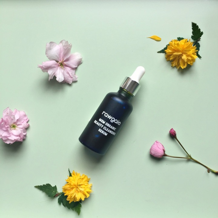 Rawgaia MSM Organic Beauty Cleansing Serum